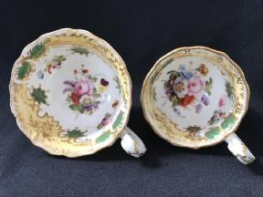 REFERENCE PIECES Coalport tea and coffee cups - Regency